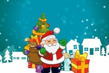 Сеть семейный клубов «Дом Волшебников» поздравляет всех с Новым годом и Рождеством